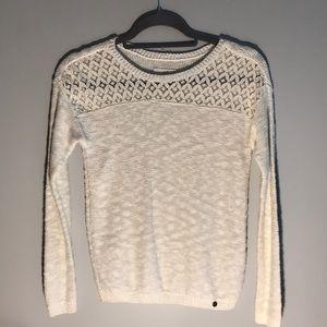 Abercrombie Kids White Sweater